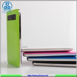 China slim polymer power bank button power bank 4000mAh for mobile phone on sale