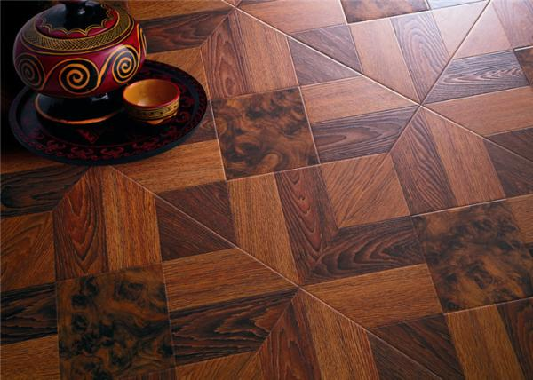 Art Parquet Tile Effect Laminate Flooring With Marble Design 600