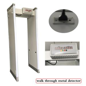 China waterproof Walkthrough Metal Detector for sensitive mental at hotel/court/hospital on sale