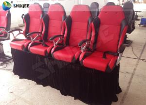 China Exclusive 4D Motion Cinema Chair 4D Theater Seating For 4D Movie Theater on sale