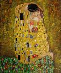 Pintura al óleo de Klimt, pintura al óleo principal del aceite