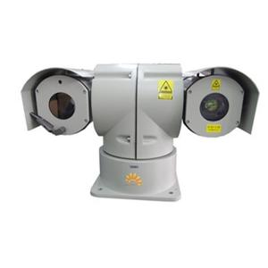 China Car Mounted PTZ Laser Camera / Cooled Thermal Camera 30X Optical Zoom For Police Patrol on sale