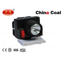 1W LED Mining Light Head Lamp for Mine Workers 2200mah Li-battery Tempered Glass Len