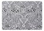 Tela 100% do laço do poliéster para o fundamento & a matéria têxtil home CY-CT9101