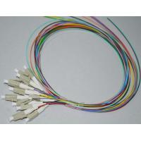 12 color fiber optic pigtails LC/ST/SC/FC 900um,SM/MM G652D or G657A fiber