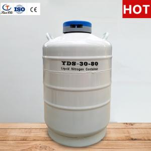 China Tianchi Stainless Steel Storage Tank YDS-30-80 Cryogenic Vessel 30L Liquid Nitrogen Container on sale