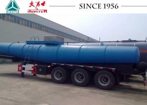China Light Weight Stainless Steel Tanker Trailers 18-22 CBM For Transporting Chemical on sale