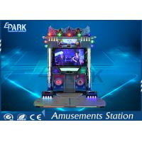 China Indoor Coin Operated Dance Arcade Machine 2 Player 55 Inch LCD Screen on sale