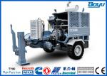 330KV Hydraulic Puller Stringing Machine and Tools for Overhead Power Lines 100kN 10T with Cummins Engine