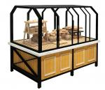 3 Years Warranty Food Store Shelving Bakery Display Shelves For Cake