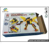 Small Size Custom Cardboard Paper Toy Packaging Boxes for Building Block