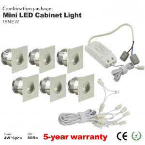 China Dimmable 4W Mini LED Cabinet Spotlight + Led drive+Wire Kit LED jewelry showcase lighting on sale