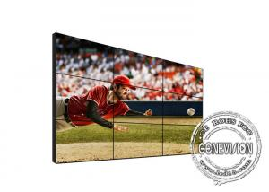 China Daisy Chain 55inch DID Video Wall 700nits Digital Signage Display 1.8mm Bezel LCD Screen Wall on sale