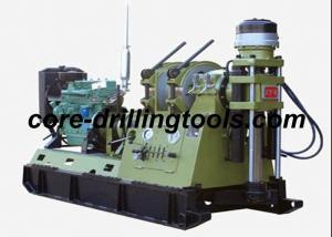 China 38KW 1800rpm Core Drilling Rig , Diamond Core Mobile Drill Rig Machine on sale