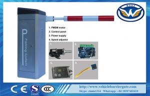 China Parking Lot Arm Barrier Automatic Boom Barrier System Gate Servo motor supplier