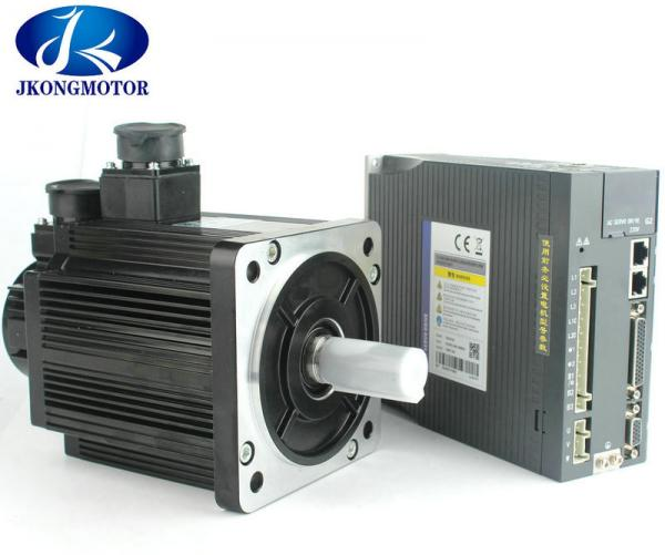 1 8KW 3 Phase AC Motor 110mm 6A 3000RPM With Driver JK