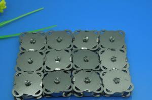 China botão magnético do fecho da bolsa do saco das pressões do preto do metal de 20Sets 18mm, Costurar-no ofício magnético da costura do prendedor do botão do metal do fecho on sale