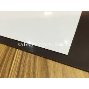 Quality PVC Lamination Rubber Sheeting Roll 0.2mm - 10 Mm Thick , 1300mm Max Width for sale