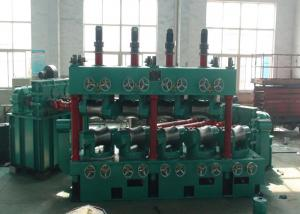 China Carbon Steel Pipe Straightening And Cutting Machine 22 * 2 KW With 600 Mpa High Speed on sale