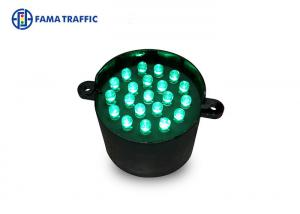 Quality Green Color 52mm Traffic Light Eco - Friendly PC Housing For Traffic Guide Arrow for sale