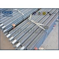 Serrated Carbon Steel Titanium Boiler Fin Tube Spiral Finned Tube For Boiler Economizer