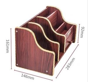 office pen holder. Quality ODM Stable Durable Plastic Office Pen Holder Design With Wood Pattern For Sale