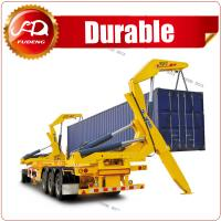 xcmg container sidelifter xcmg side crane side lifter trailer , container truck trailer with lift