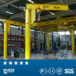 YT 180 270 360 degrees  rotation Column Mounted Jib Crane