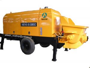 China stationary concrete pump with diesel engine or electro motor on sale