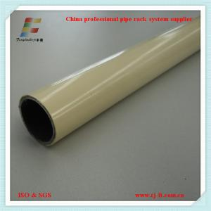 China coated pipe for lean pipe rack system in china on sale