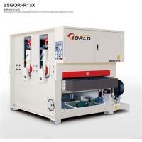 China Two-Head Heavy Duty Calibrating Sander, BSGQR-R13X on sale
