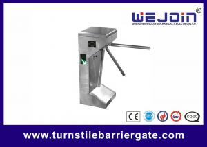 China Traffic Light Indicator Turnstile Barrier Gate Stainless Steel Housing With Smart Card on sale
