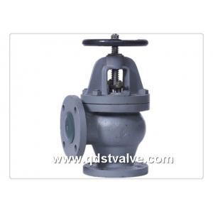 China JIS F7306 5K Cast iron marine angle valve on sale