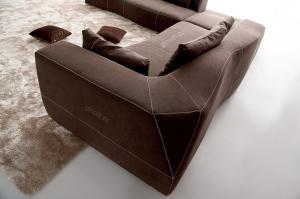 Quality Italian designer sofa , Luxury Modern Fabric Sofas , Italian B / B furniture for sale
