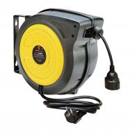 China Impact Resistant Polypropylene 15m / 20m Electric Cable Reel Black / Yellow on sale