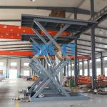 3 Ton 5M Hydraulic Scissor Car Lift Underground Car Parking Lift With CE