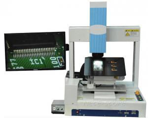 China 5D Custom Microscope 15 X-250 X Automatic Program Moving NC-5D , Built - In Camera on sale