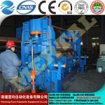 MCLW11STNCon uma caldeira inteiramente hidráulica do CNC dedicou a máquina de rolamento universal da placa do rolo