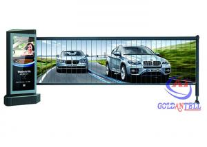 China IP54 LED Light Custom Color Advertising Barrier , Outdoor Windproof Parking Barrier Gates on sale