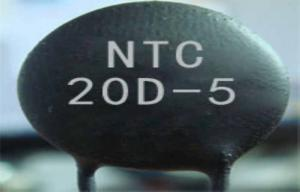 China 20mm NTC Power Thermistor 20D , Semiconductor Ceramic Element on sale