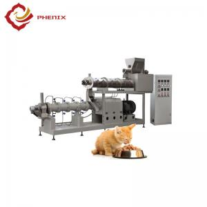China automatic pet food twin screw extruder making machine production line on sale