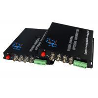 China multi-function 4channel fiber optical converter audio video modem on sale