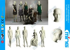 China FRP Fashion Display Female Body Mannequin Egg Head, Full Body Display on sale