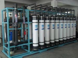China Reverse Osmosis Seawater Desalination Plant for Impurities , Ions , Organics Removing on sale