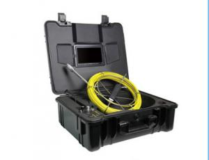 China Industrial CCTV Video Pipeline Drain Chimeny Sewer Pipe Inspection Camera & Meter Distance on sale