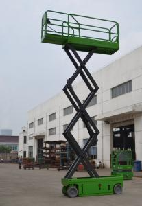 China Self Propelled Scissor Lift With Extension Length 0.9m , 380Kg Theatre / Hospital Self Propelled Platform on sale