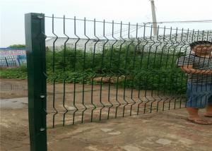 China 1.0-2.5m Height Curved Wire Fence , Farm Fence Wire Mesh Easy Maintance on sale