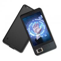 High Quality Android 7 inch  touch screen Black Fingerprint Android Tablet with Barcode Scanner FP07