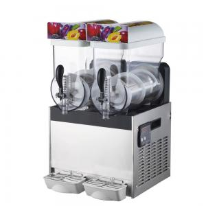 China Commercial slush ice making machine/ snow melt making machine with two tanks on sale