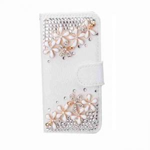 China AR006 Luxury bling bling diamond leather iphone cases for IPHONE on sale